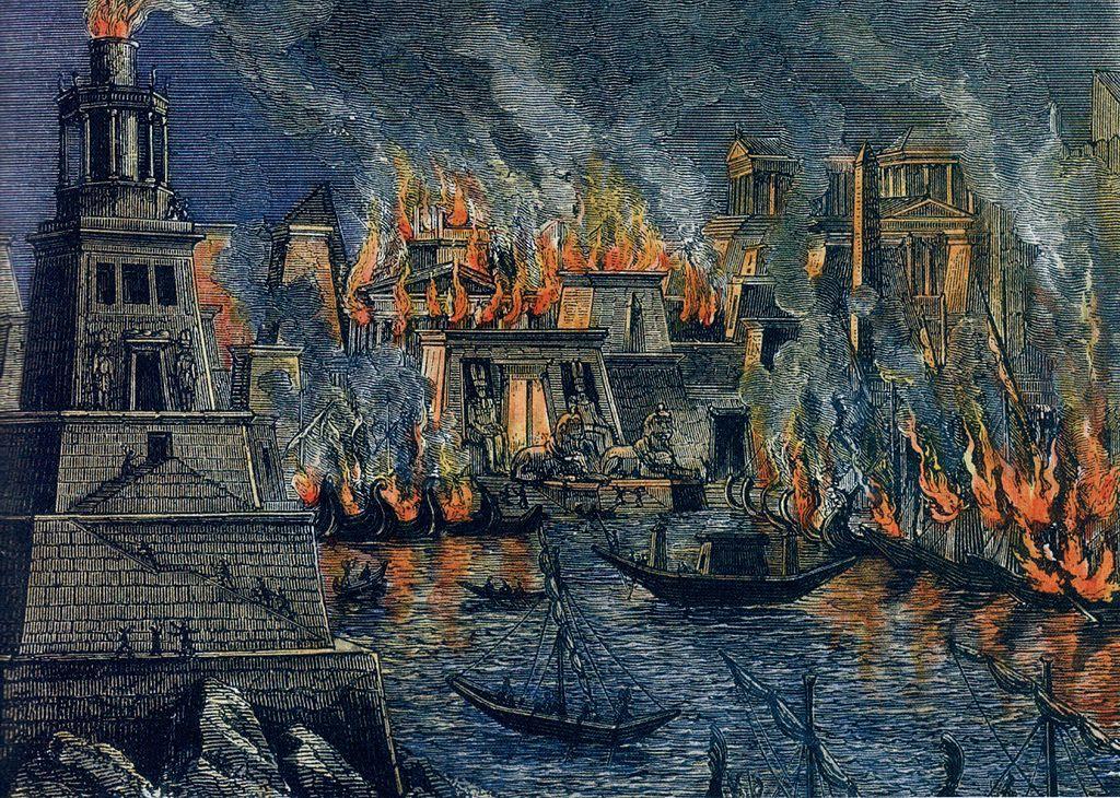 Incendio-Alessandria