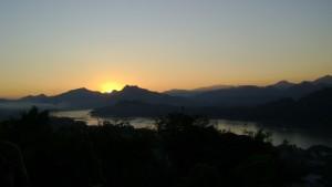 tramonto mekong