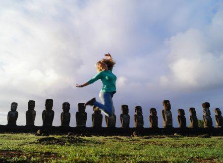 Giulia a Rapa Nui